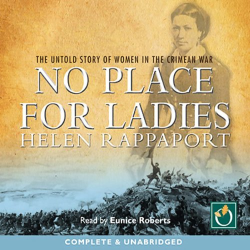 No Place for Ladies audiobook cover art