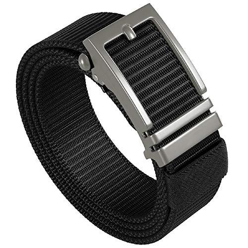 Ratchet Belts for Men-Web Belt-1.25 Inch Nylon Automatic Slide Belt-Tactical Belt