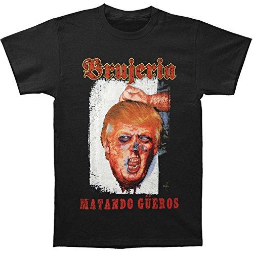 Brujeria Men's Mantando Gueros - Make America T-shirt X-Large Black