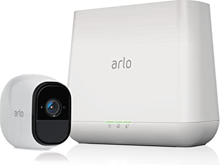 Arlo Pro - 1 Camera System, Work with Alexa, Inbuilt alarm siren, Rechargeable, Wire-Free, 1080p HD, Audio, Indoor/Outdoor, Night Vision (VMS4130-100AUS)