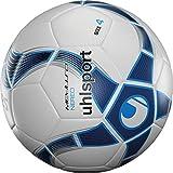 uhlsport Nereo Football Mixte, Blanc/Bleu, 4