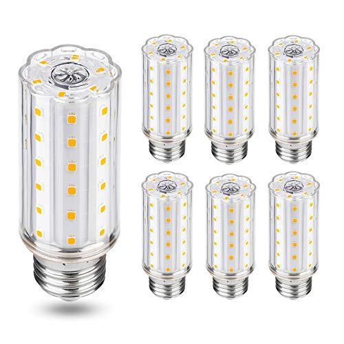 Lampadine LED E27 Luce Calda,Auting 10W Lampadina Led E27 Equivalenti a 100W Lampade LED E27 3000K,1000lm AC220-240,Non Dimmerabile, Confezione da 6 Pezzi