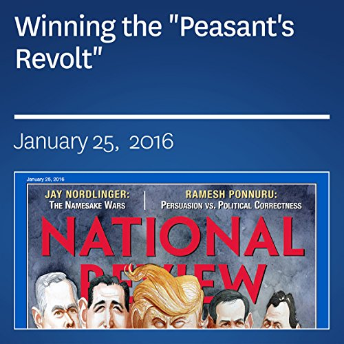"Winning the ""Peasant's Revolt"" audiobook cover art"