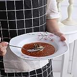 VEWEET Tafelservice 'Annie' aus Porzellan 18 teilig   Tellerset für 6 Personen   Mit je 6 Dessertteller, Tiefteller und Flachteller - 7