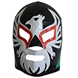 Made in Mexico EL Mexicano Adult Lucha Libre Wrestling Mask Costume Wear (Black)
