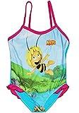 alles-meine.de GmbH Badeanzug mit Rüschen -  Biene Maja  - Größe 1 bis 2 Jahre - Gr. 86 bis 92 - für Mädchen Kinder - rosa Röckchen - Einteiler - Einteilig - Rüschchen - Bademo..