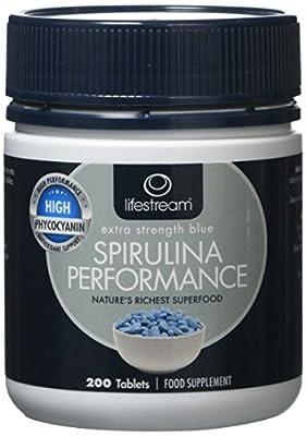 Lifestream Spirulina Performance 200 Tablets
