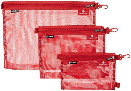 Eagle Creek PackIt Original Sac Set Red Fire Set of 3 S M L