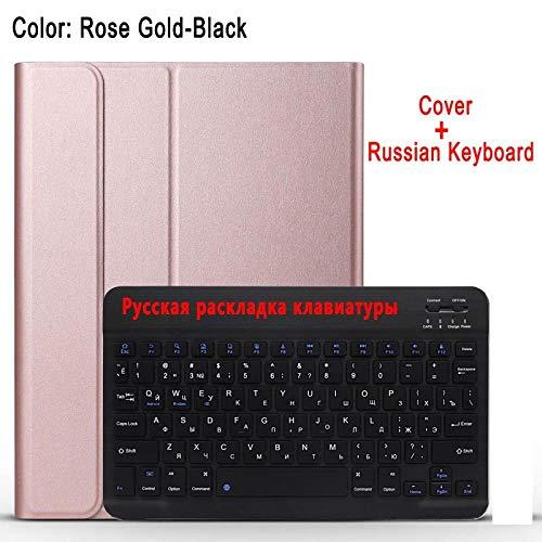Tastaturhülle für Apple iPad 2/3/4 iPad2 iPad 3 iPad 4 9.7 A1395 A1396 A1403 A1416 A1430 A1458 A1460 Tastaturabdeckung-Russische Tastatur