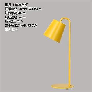 YU-K Color personalizado escritorio dormitorio cama minimalista hotel art deco de hierro personalizada LED Lámparas de mes...