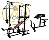 GOLD FITNESS Combo ABS Tower with 20 in 1 Bench (1.5X3 Pipe Size...