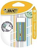Bic gommes plast-office plastique sans pVC blister a (blanc)
