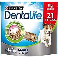 Dentalife Dental Chews for Small Adult Dogs, 21 sticks, 345g