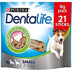 Chewy porous texture Cleans even the hard to reach teeth Scientifically proven to reduce tartar build-up Helps reduce plaque build-up No added artificial flavourings or colourants