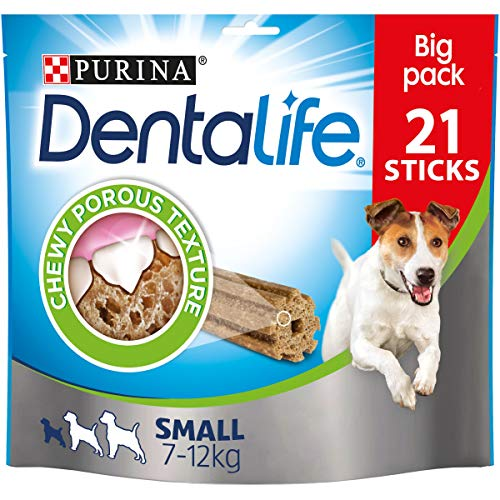 DENTALIFE Small Dog Chews 63 Sticks, 3x345g