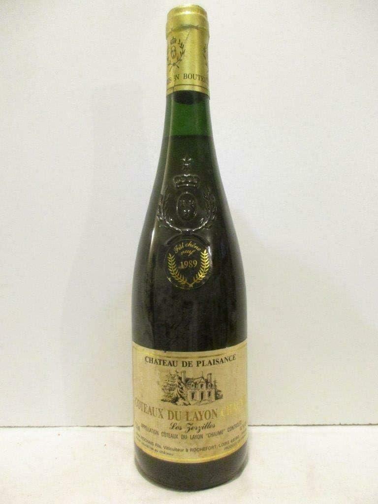 coteaux du layon chaume château de plaisance les zerzilles fut de chêne neuf liquoreux 1989 - loire - anjou