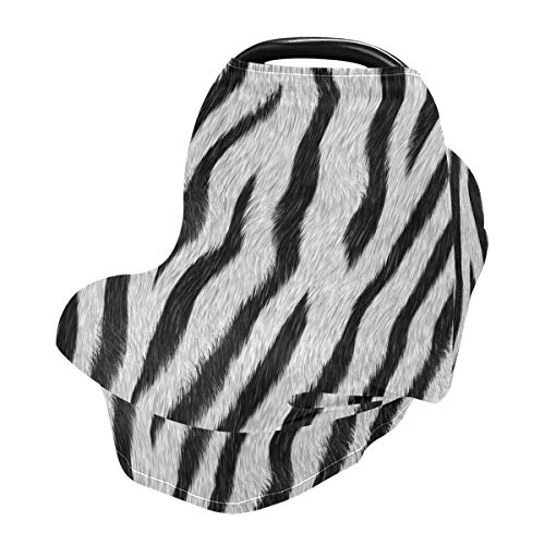 Nursing Cover Breastfeeding Scarf Zebra Print - Baby Car Seat Covers, Infant Stroller Cover, Carseat Canopy for Girls and Boys(0eb3b)