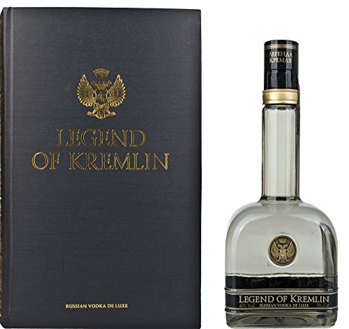 Legend of Kremlin De Luxe Russian Vodka Gift Box - 700 ml