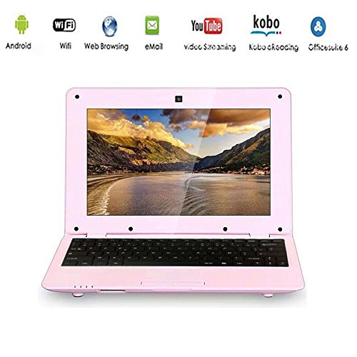 G-Anica Netbook HDMI 10.0 Zoll (WiFi, 1.5GHz RAM 512 Mo, 4 Go ) Tablet-PC Google Android 4.4.2- Rosa