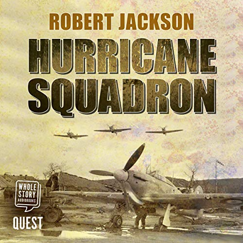 Hurricane Squadron audiobook cover art
