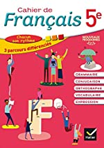 Cahier de Français 5e éd. 2016 - Cahier de l'élève d'Annie Lomné