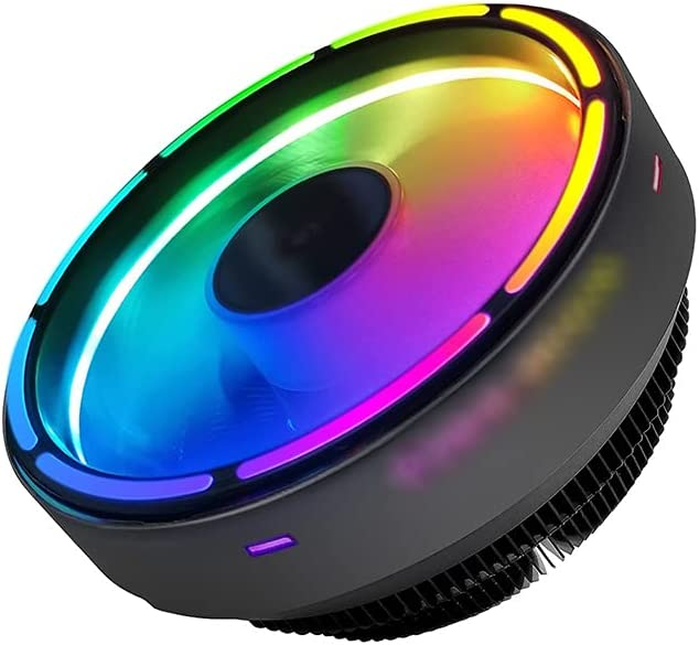 All stores are sold Classic WCN Fans CPU Air Cooler 120mm Aluminum Bl Fan PWM RGB