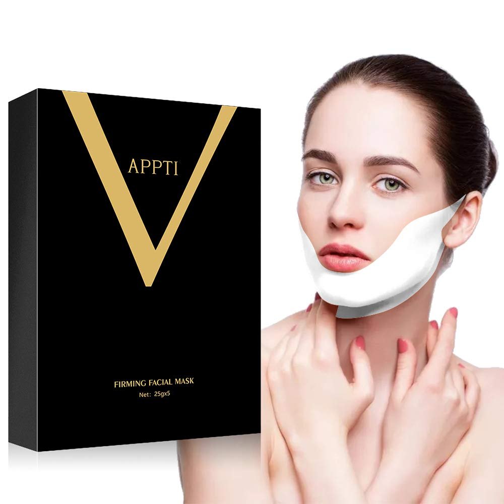 APPTI 35% OFF V Line Lifting Face Animer and price revision S Double 5 Mask Pieces,Slimming