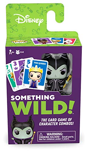 Funko Games: Something Wild Card Game - Disney Villains
