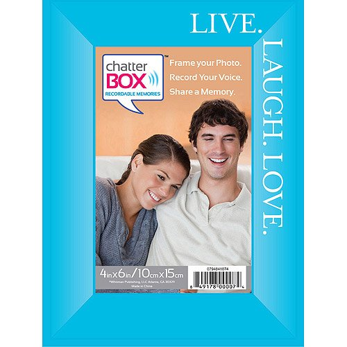 Chatter Box-live, Laugh, Love Photo Frame