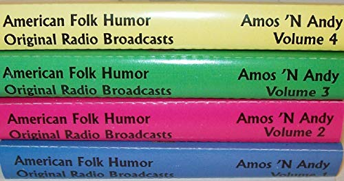AMOS 'N' ANDY: American Folk Humor, Original Radio Broadcasts - Volumes 1-4