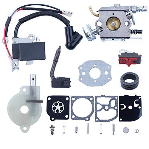 Aiming Filtro carburatore Carb Aria per Husqvarna Chainsaw 136 137 141 142 36 41 142e Numero 530.071.987 530.019.172