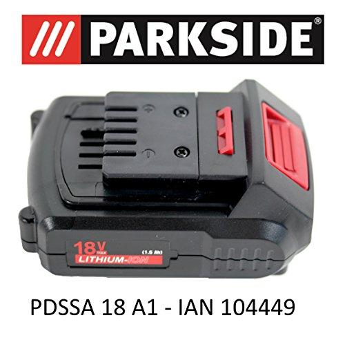 Parkside accu 18V 1,5Ah PAP 18-1.5 A1 voor PDSSA 18 A1 draaislagschroevendraaier