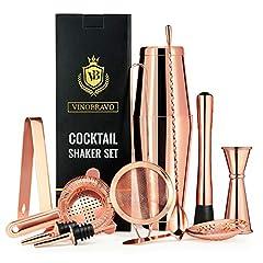 11-Teiliges Boston Cocktailshaker Set von