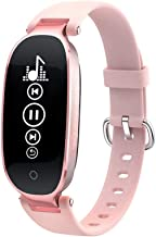 LXRZLS Smart Watch Sleep Monitor Calorie Step Counter Waterproof Watch With Sleep Monitor  Color   Pink