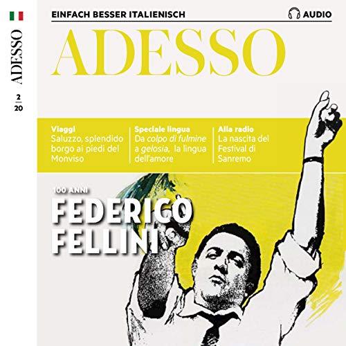Adesso Audio - 100 anni Federico Fellini. 2/2020 Titelbild