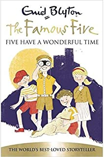 The Famous Five Five Have A Wonderful Time by Enid Blyton - Paperback