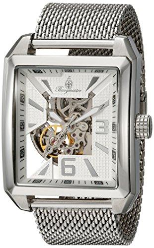 Burgmeister Herren Analog Automatik Uhr mit Edelstahl Armband BM325-111