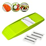 Best  - Vegetable Julienne Slicer, GIGRIN 3 in 1 Mandoline Review