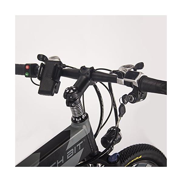 51cjATSxs8L. SS600  - RICH BIT RT-860 36V 250W 12,8 Ah klappbares Elektrofahrrad Vollgefedertes City Bike Elek