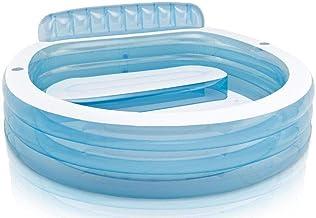 انتكس 57190 حمام سباحة بدالات قابلة للنفخ - أزرق