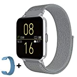 Kalakate Smart Watch for Men Women, Fitness Tracker with IP68 Waterproof for Android iOS Phone, Smartwatch with 1.54' Touch Screen, Pedometer, All-Day Heart Rate, Sleep Monitoring, Weather Forecast