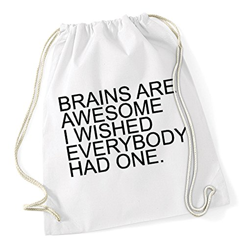 Certified Freak Brains Are Awesome Bolsa De Gym Blanco