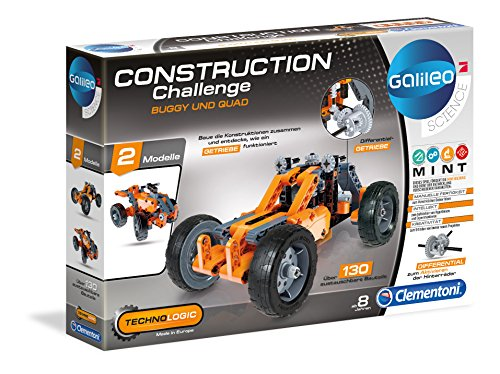 Clementoni 59015.5 - Galileo Technologic - Buggy und Quad, bunt