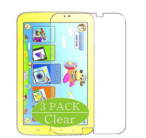 Vaxson 3-Pack Screen Protector, compatible with Samsung Galaxy Tab 3 Kids Edition 7', TPU Guard Film Protector [ NOT Tempered Glass Protectors ]