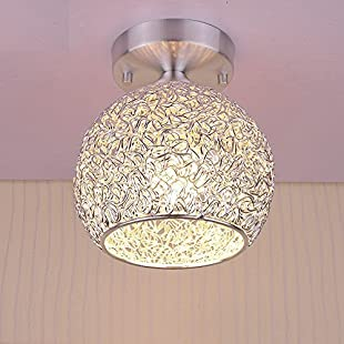 Modern Ceiling Light Ceiling Lamp in Aluminum Lampshade for Bedroom Living Room Hallway