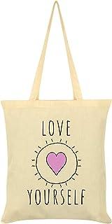 Love Yourself Tote Bag Cream 38x42cm