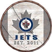 Fan Creations NHL ロサンゼルス・キングス ユニセックス ウィニペグ・ジェッツフラッグ 16インチ バレルトップ チームカラー 16インチ