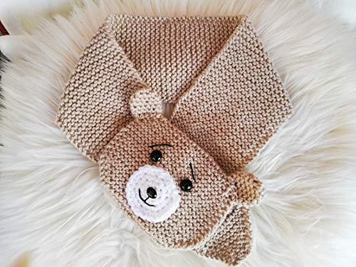 Strickanleitung Stechschal Teddy für Babys und Kinder bis zu 2 Jahren: Ideal auch für Anfänger