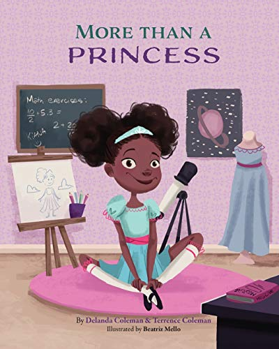 Compare Textbook Prices for More than a Princess  ISBN 9781734415803 by Coleman, Delanda,Coleman, Terrence,Mello, Beatriz