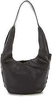 Tom Snap Leather Hobo Bag - Black/Gunmetal [17